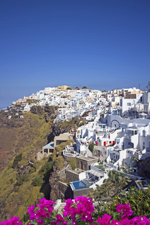 Oia sur l'île de Santorini photographie stock libre de droits