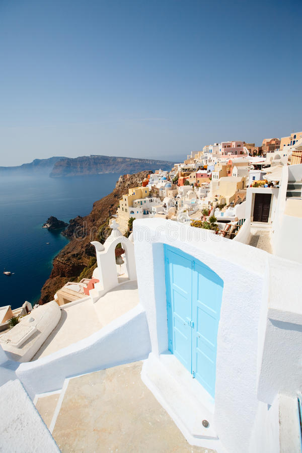 Download Oia village Santorini stock image. Image of beautiful - 11685993