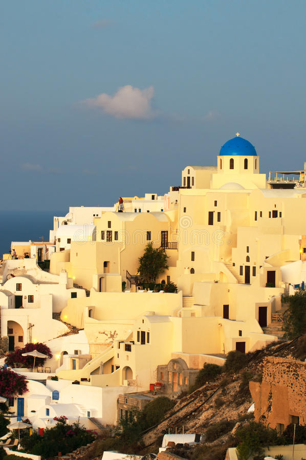 Download Oia Village At Santorini Island Stock Image - Image: 15914871