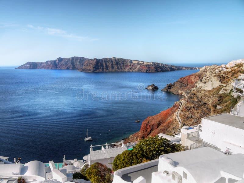 Oia Village , Santorini Island royalty free stock photos
