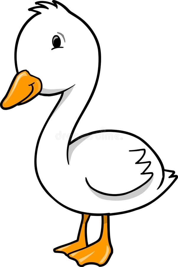 Oie de canard illustration libre de droits