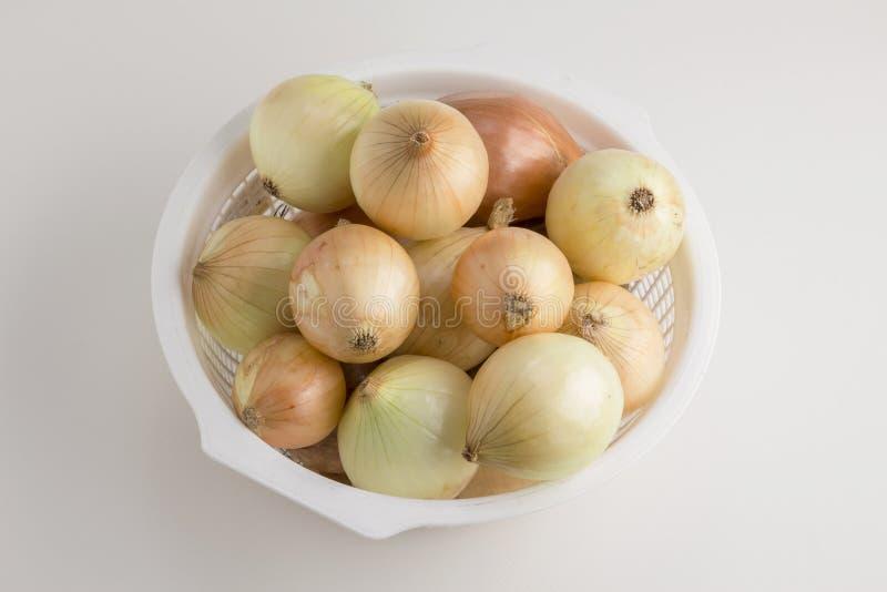 Download Oignon lumineux de tas image stock. Image du objet, studio - 87704411