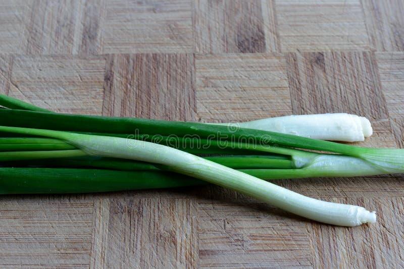 Oignon vert photographie stock libre de droits