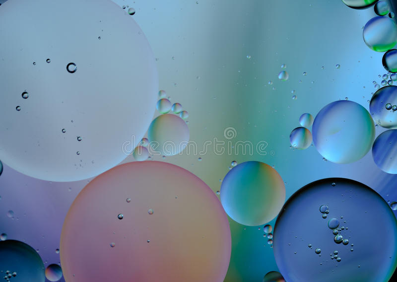 Oil Abstract stock photos