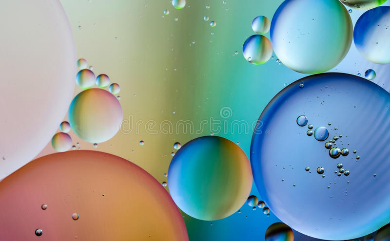 Oil Abstract stock photography