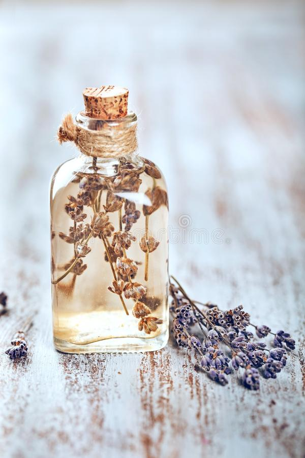 Oil. Apothecary decoration nobody natural floral medical royalty free stock image