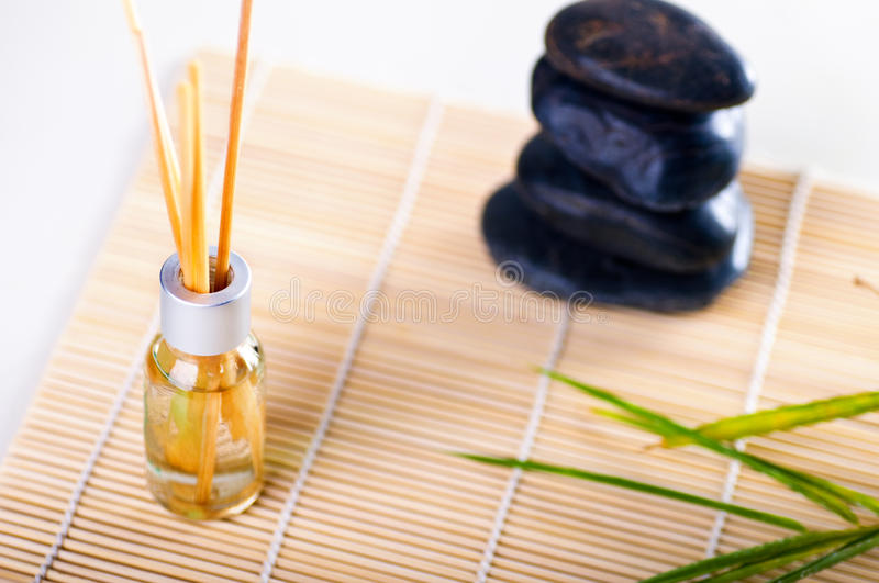 Download Oil aromatherapy stock image. Image of bamboo, peaceful - 13330251