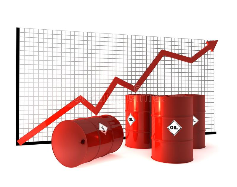 Download Oil Barrel And Curve Stock Image - Image: 24430071