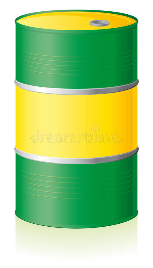 Download Oil Barrel Isolated Royalty Free Stock Photo - Image: 15308045