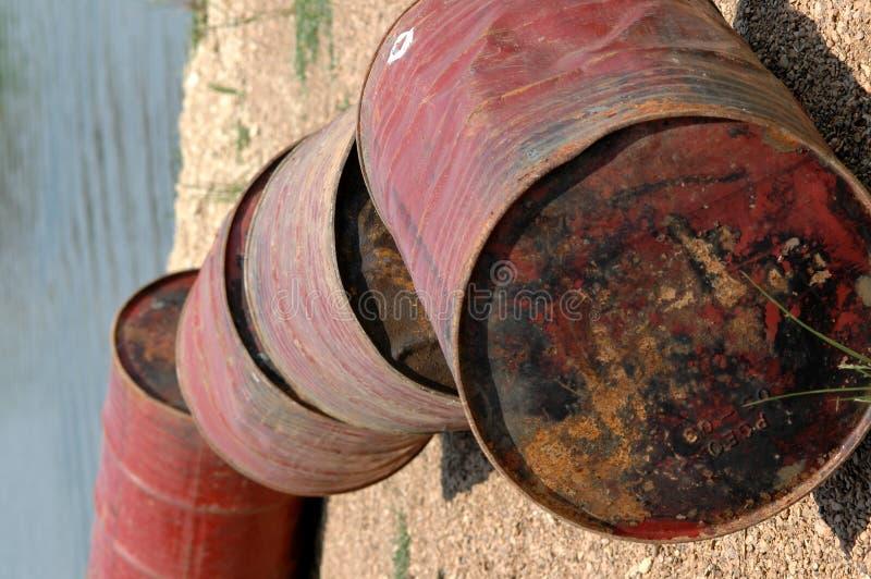 Download Oil Barrels stock image. Image of abandoned, litter, middle - 187885