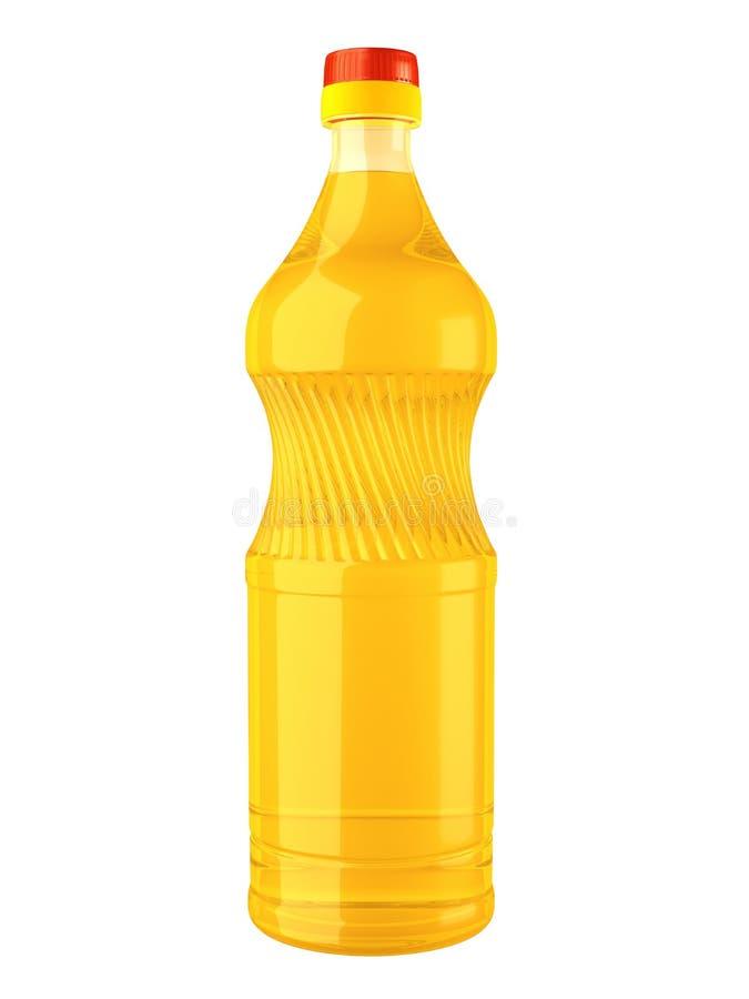 Oil bottle royalty free illustration