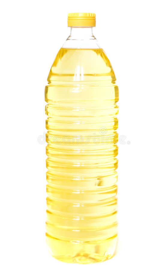 Oil bottle royalty free stock images