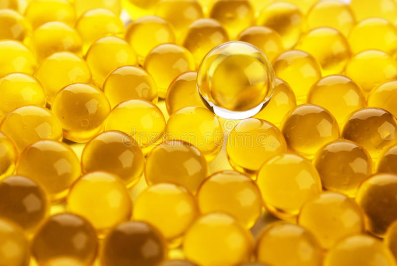 Oil Capsules Texture Stock Photo Image Of Objects