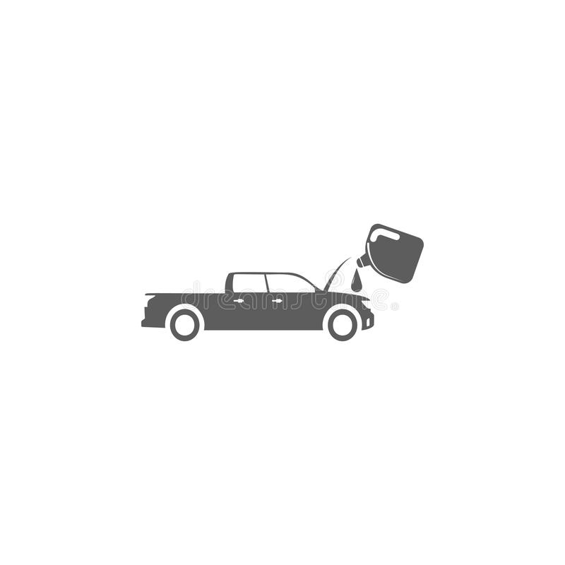 Oil Change In The Car Icon Elements Of Car Repair Icon Premium