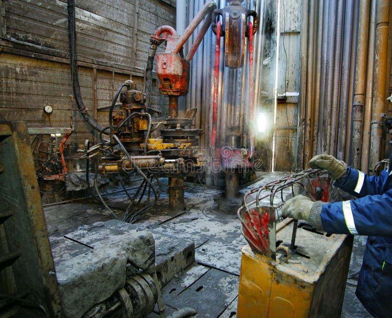 Download Oil derricks stock photo. Image of fuel, machine, mining - 15577880
