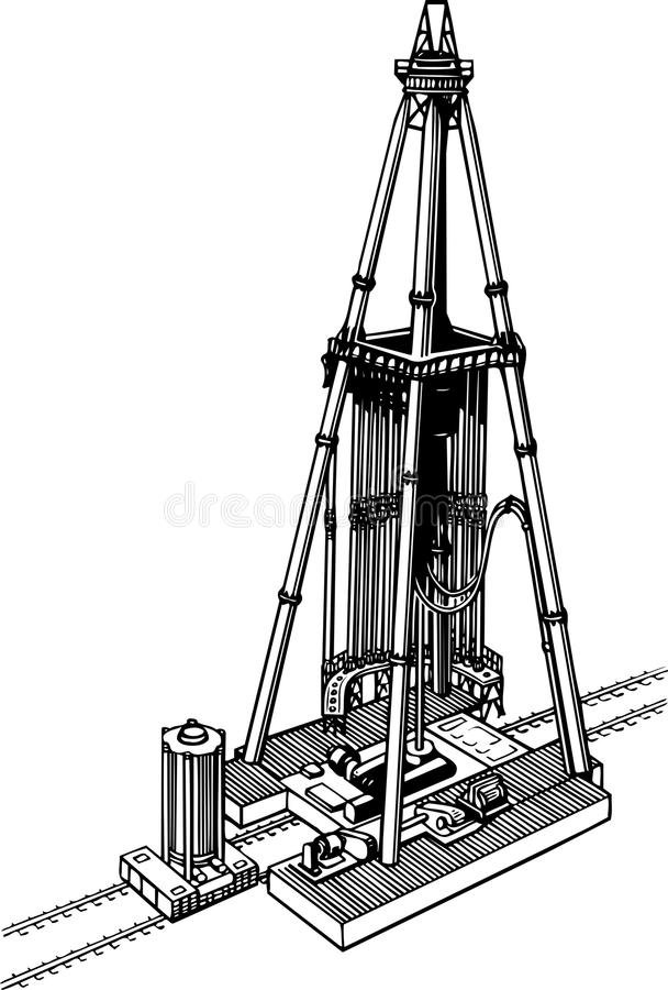 Drilling Rig Stock Illustrations – 5,522 Drilling Rig Stock