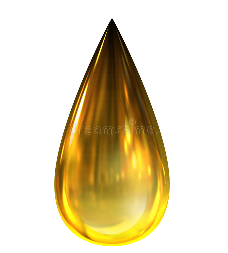 Oil Drop vector illustration