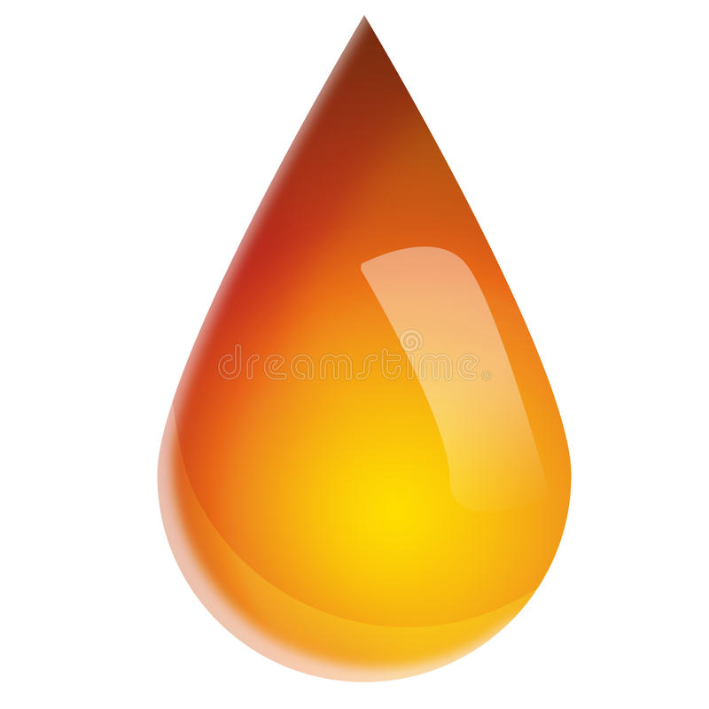 Download Oil drop stock illustration. Image of gasoline, fuel - 18658490