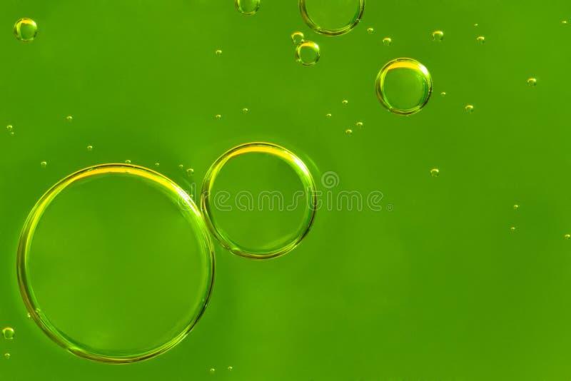 Oil Drops Closeup Royalty Free Stock Photo