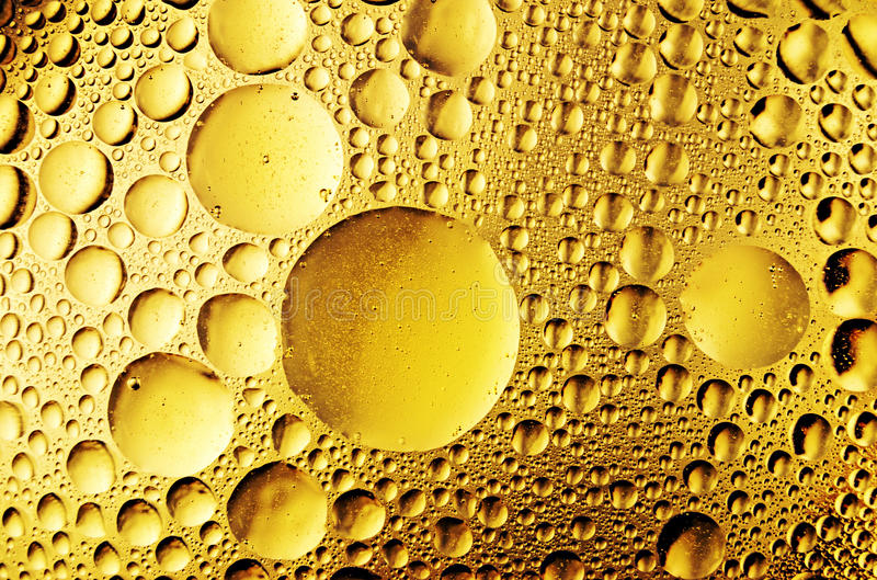 Download Oil drops on the water stock photo. Image of closeup - 22890254