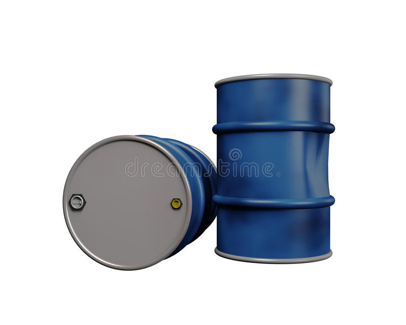 Download Oil Drums stock illustration. Illustration of metal, container - 10493492