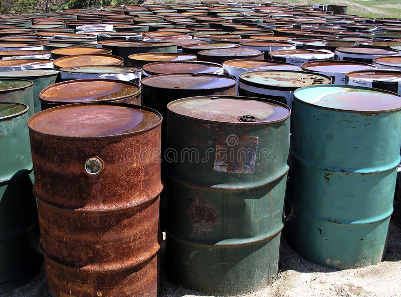 Download Oil Drums stock image. Image of weathered, container, corrosion - 1823247