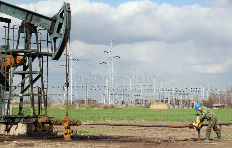 Oil Field Stock Images