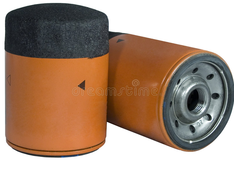 Oil Filters royalty free stock image