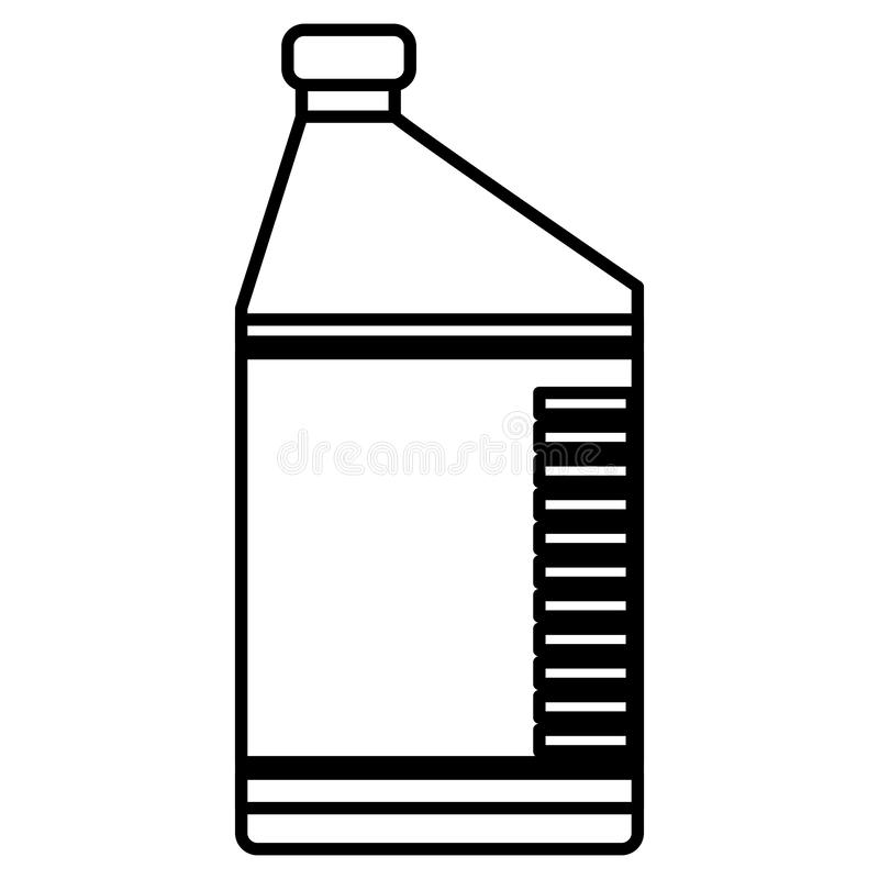 Oil gallon engine icon royalty free illustration