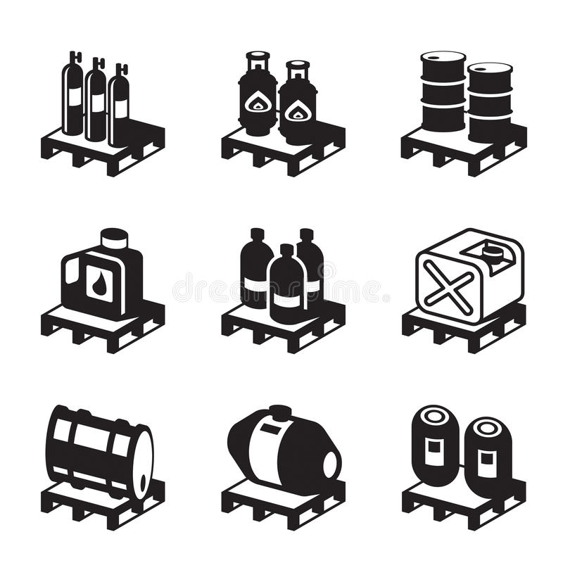 Download Oil, Gas And Chemical Products Stock Vector - Image: 41265011