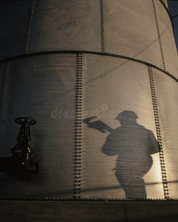 ENERGY ENVIRONMENTAL OIL GAS INDUSTRY STORAGE TANK TECHNOLOGY stock images