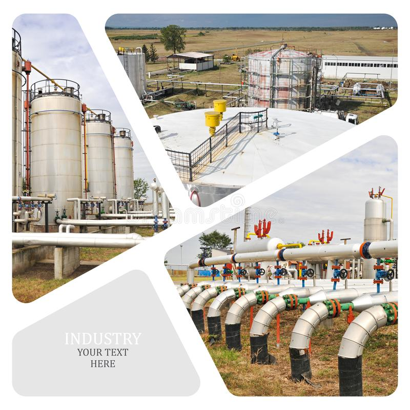 Download Oil And Gas Industry. stock photo. Image of petrochemical - 102193094
