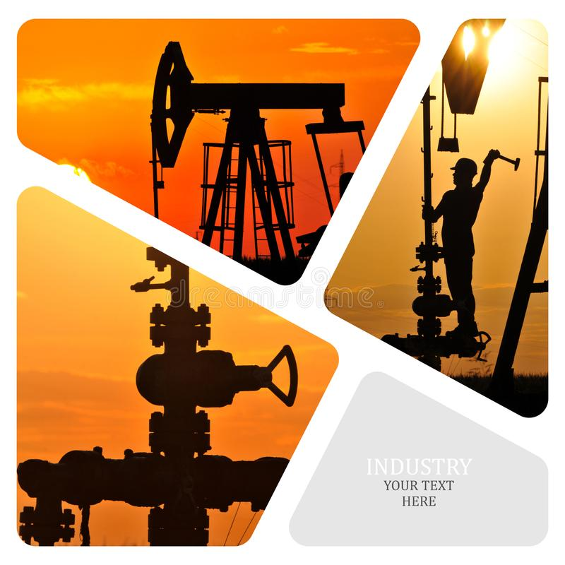 Download Oil And Gas Industry. stock image. Image of commercial - 102201867