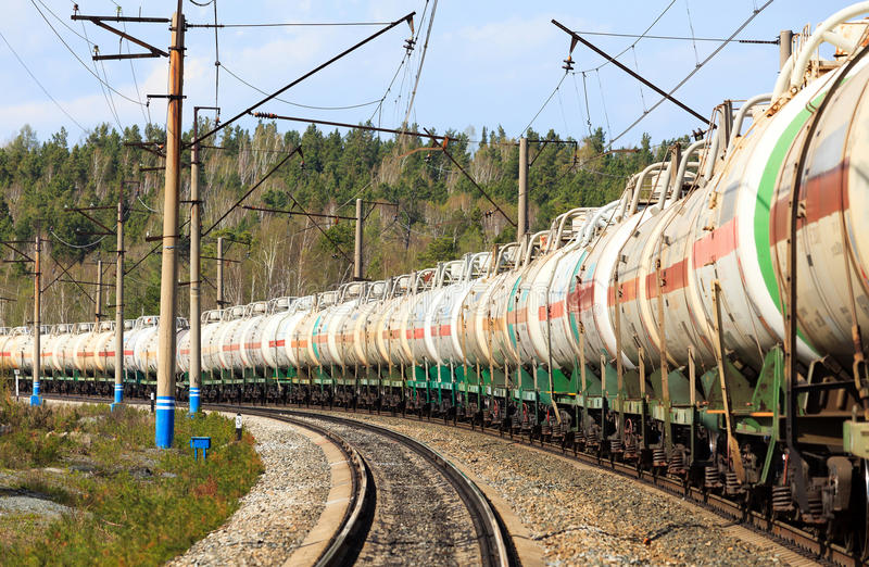 Download Oil or gas transportation stock photo. Image of railway - 24700954