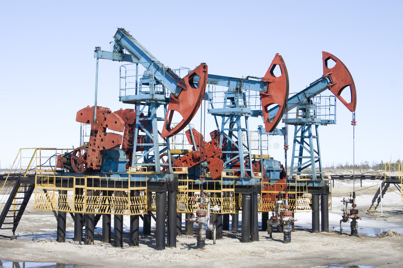Oil industry royalty free stock photography