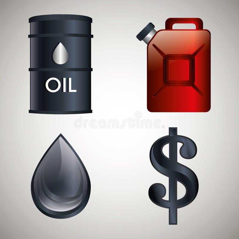 Oil industry design. Petroleum industry design, vector illustration eps 10 stock illustration