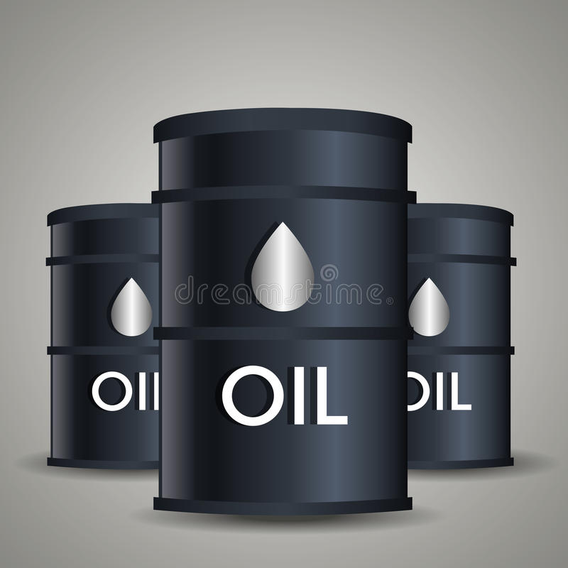 Oil industry design. Petroleum industry design, vector illustration eps 10 stock illustration