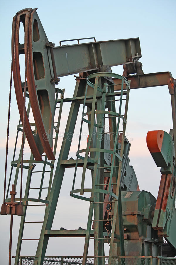Oil jack royalty free stock images