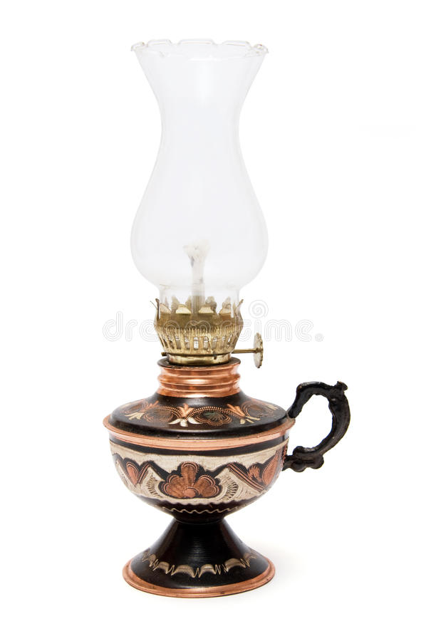 Download Oil lamp stock photo. Image of fashioned, metal, lamplight - 20168240