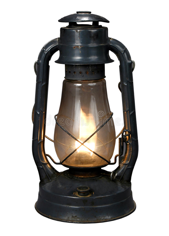 Download Oil Lamp (With CLipping Path{ Royalty Free Stock Images - Image: 1386669
