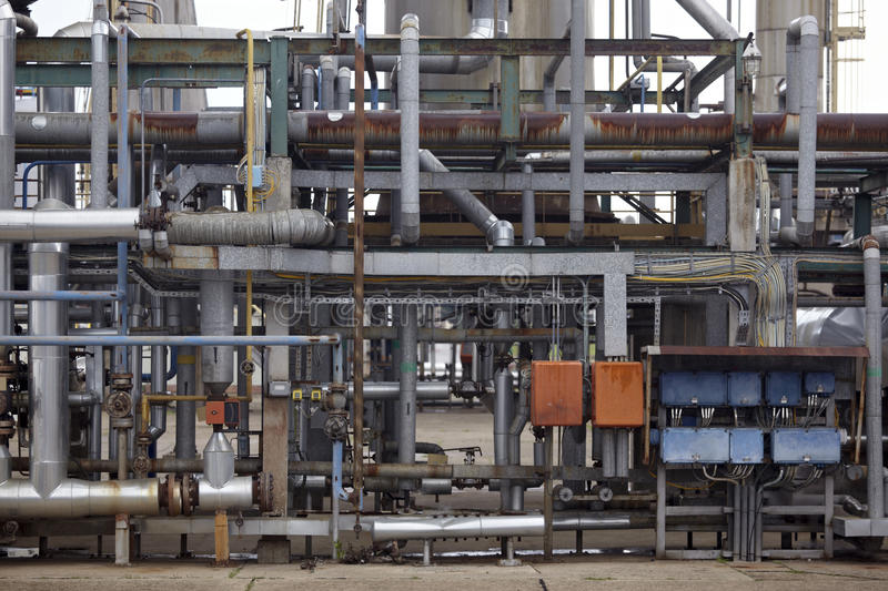 Oil and naphtha industry royalty free stock photos