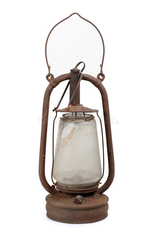 Oil old lamp royalty free stock images