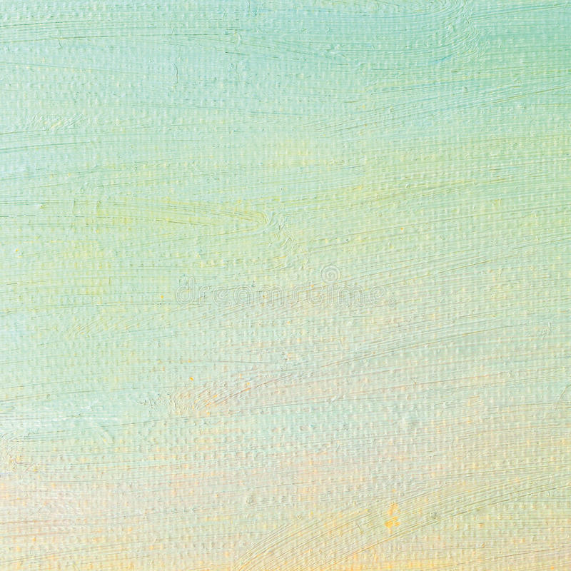 Oil paint background, bright ultramarine blue yellow pink, turquoise, large brush strokes painting detailed textured pastel colors. Oil paint background, bright royalty free stock photo