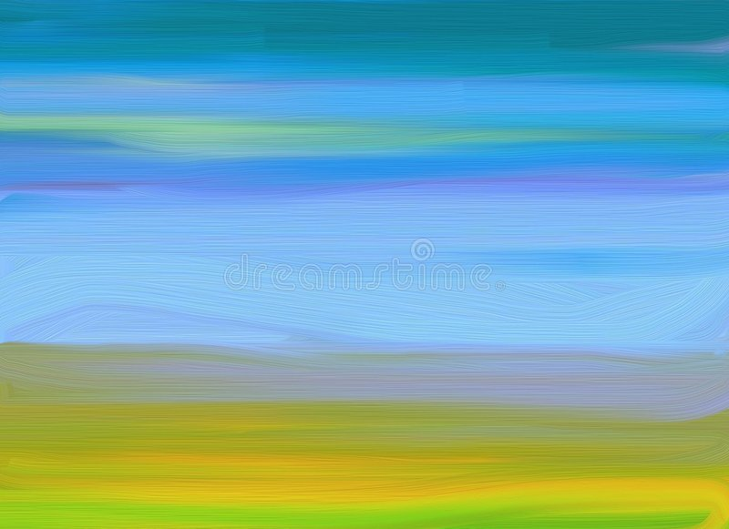 Oil-painting background vector illustration