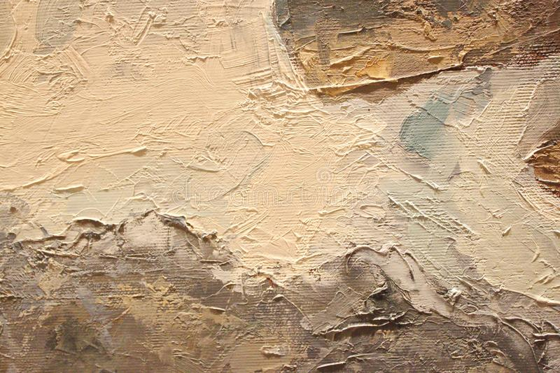 Oil Painting close up texture with brush strokes stock photos