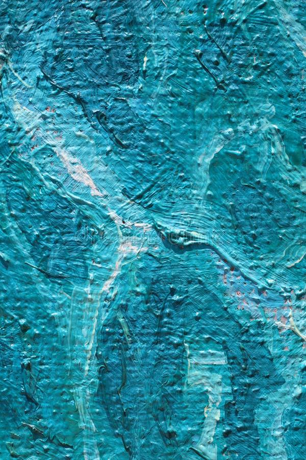 Oil Painting close up texture with brush strokes. Detailed texture of brush strokes stock photo