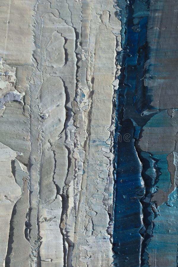 Oil Painting close up texture with brush strokes stock photo