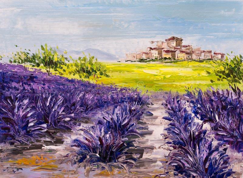 Lavender Field Stock Illustrations 3 016 Lavender Field Stock Illustrations Vectors Clipart Dreamstime
