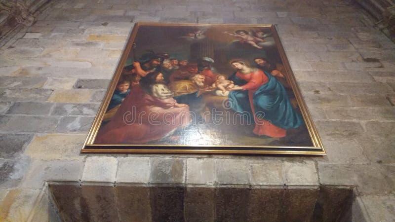Basilica de la begonya Bilbao Spain royalty free stock images