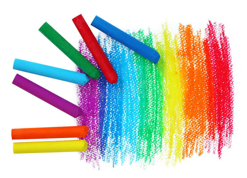 Download Oil Pastel Crayons stock image. Image of crafts, isolated - 10995877